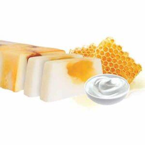 χειροποίητο σαπούνι γιαούρτι και μέλι