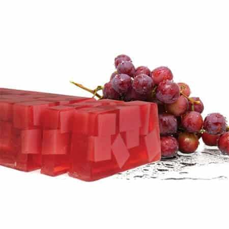 χειροποίητο σαπούνι κόκκινο σταφύλι